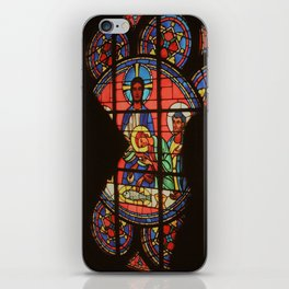 Stained Glass Shadow iPhone Skin