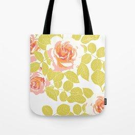 rose garden pink Tote Bag