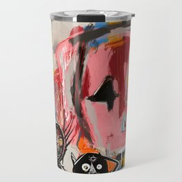 """The speed of life"" Street art graffiti and art brut Travel Mug"