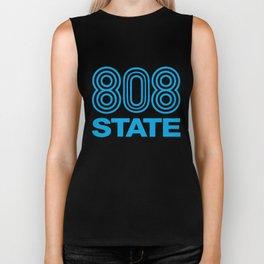 808 State Dj Club Music Dance Rave Retro Dance T-Shirts Biker Tank