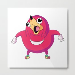 I Wil Sho U De Way Metal Print