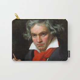 Ludwig van Beethoven (1770-1827) by Joseph Karl Stieler, 1820 Carry-All Pouch