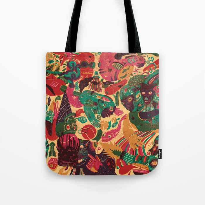 Sense Improvisation Tote Bag