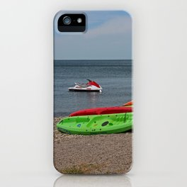 Stealing Moments II iPhone Case