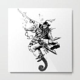 Filibuster Metal Print