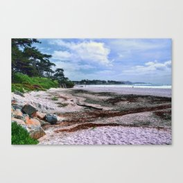 Carmel Beach California Coastal Landscape Canvas Print