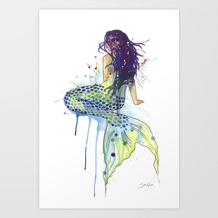 Mermaid Kunstdrucke