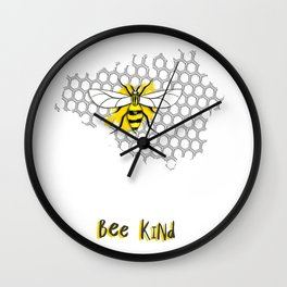 BEE Kind Wall Clock