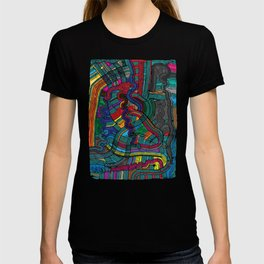 Happy Fork Waves T-shirt