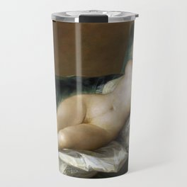 Maja Desnuda (The Nude Maja) by Francisco Goya Travel Mug
