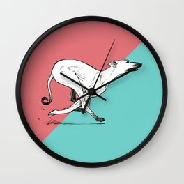 Run Greyhound! Wall Clock