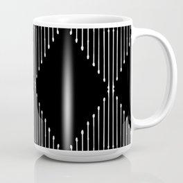 Geo / Black Coffee Mug