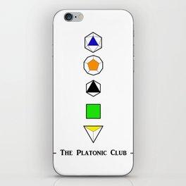 The Platonic Club iPhone Skin