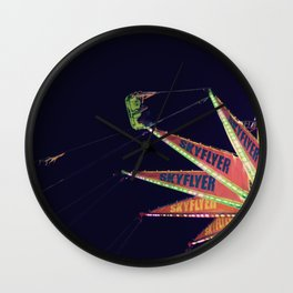 All The Pretty Lights - VII Wall Clock