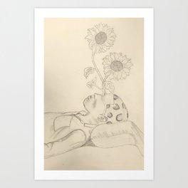 Tyler The Creator - Flower Boy - Drawing Art Print