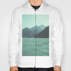 Desolation is beyond the horizon - Diablo Lake Hoody