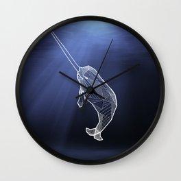 Keep Narwhals Real! Wall Clock