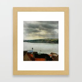 Scarborough from On High Framed Art Print