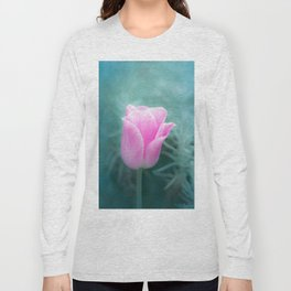 Pink Blossom Tulip Long Sleeve T-shirt