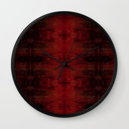 Red Fire 7.1 Wall Clock