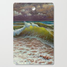 wild waves Cutting Board