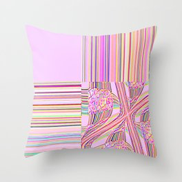 Re-Created Southern Cross II by Robert S. Lee Throw Pillow