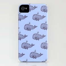 Pod of Whale iPhone (4, 4s) Slim Case