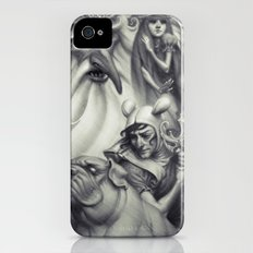 Another Castle :: Duotone Print iPhone (4, 4s) Slim Case