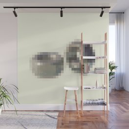 Censored Hardware Fasteners Wall Mural