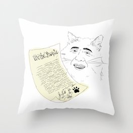 declaration  Throw Pillow