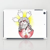 christ iPad Cases featuring Christ by Morgan Soto
