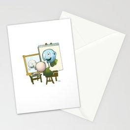 Baby Norman Zombiewell Stationery Cards
