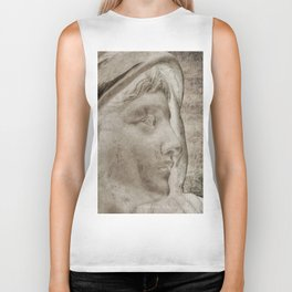 Lady Angel Celestial Woman Spiritual Art A145 Biker Tank
