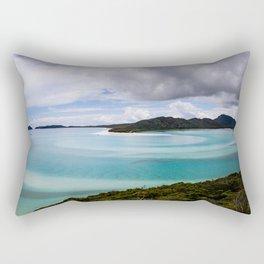 Whitsunday Islands- Whitehaven Beach Rectangular Pillow