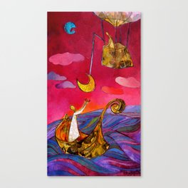Between Earth and Sky – Home 1 Canvas Print