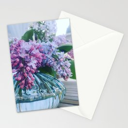 Lilacs Stationery Cards
