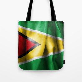 Guyana Flag Tote Bag