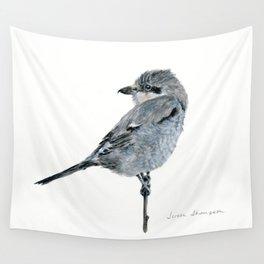 Northern Shrike by Teresa Thompson Wall Tapestry
