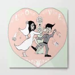Love and Marriage Metal Print