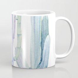Pastel watercolor tall cacti   pale watercolor cactus Coffee Mug