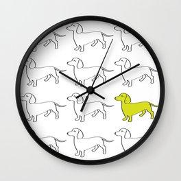 Weenie Collective Wall Clock