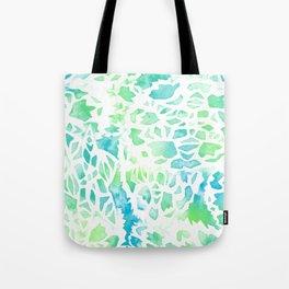 Snowflake pattern Tote Bag