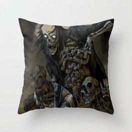 BORN OF MUD Throw Pillow