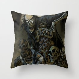 BORN OF MUD Throw Pillow