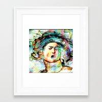mythology Framed Art Prints featuring Mythology by Ganech joe