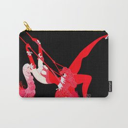 "Art Deco Illustration ""Trapeze"" Carry-All Pouch"