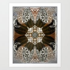 Discovered Pasts Art Print