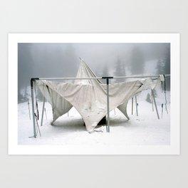 Winter Sculpture Art Print