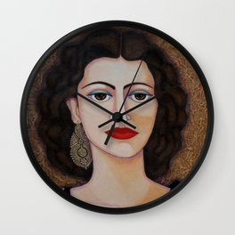 Amalia Rodrigues – Music born in the soul Wall Clock