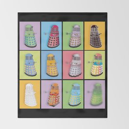 Dalek Dreams Throw Blanket